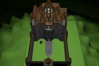 obj gothic castle