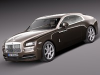 3d model 2013 2014 luxury rolls royce