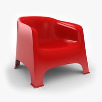 3d model skarpo garden chair