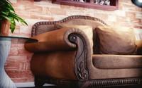 3d model sofa nature