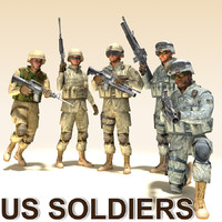soldiers m16 m4 3ds
