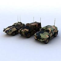 3d model of australian army