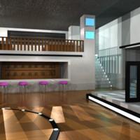 3d model nightclub 4