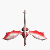 3dsmax fantasy dragon
