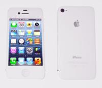 free c4d model iphone 4