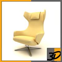 grand repos 3d model