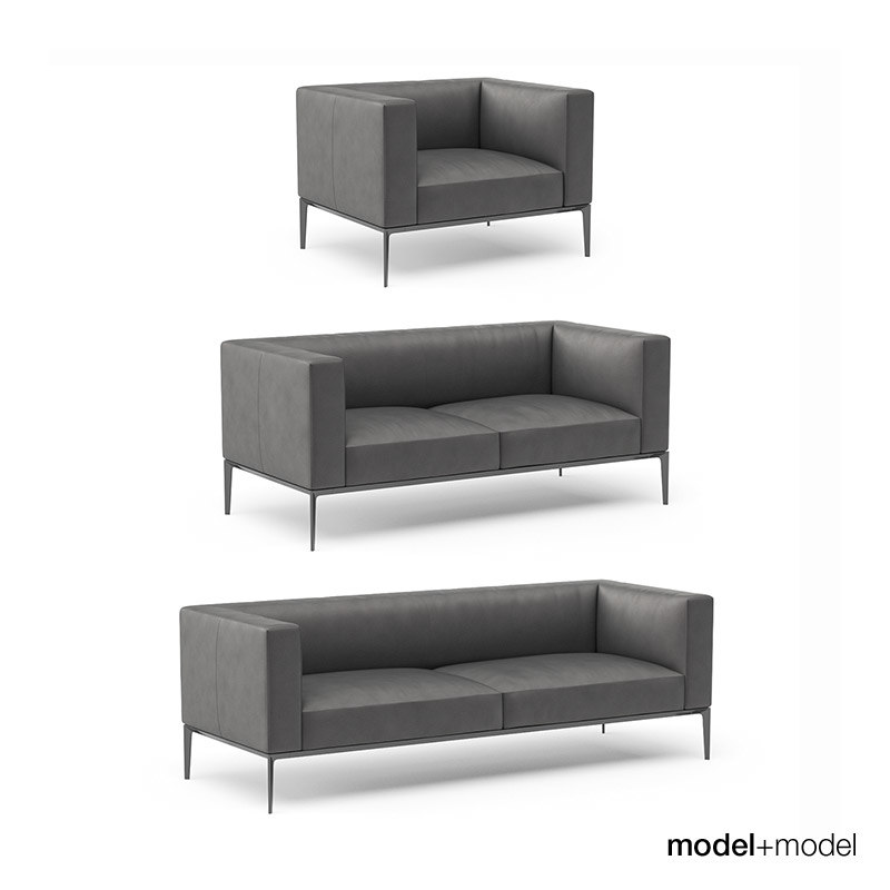 3d walter knoll jaan sofa armchair. Black Bedroom Furniture Sets. Home Design Ideas