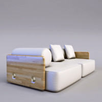 sofa designer 3d model