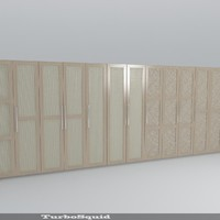 decorative furniture doors obj