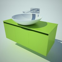 washbasin antonio lupi 3d model
