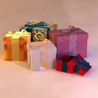 3d model gift packages