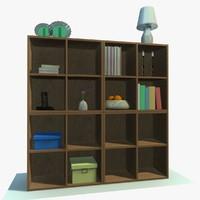 cabinet decor 3d model