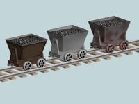 max mining cart track -