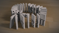 3d model dominoes dice