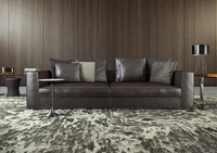 minotti powell sofa 3d model