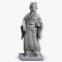 thailand statuette monk max