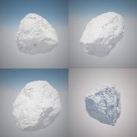 free c4d model rock generator