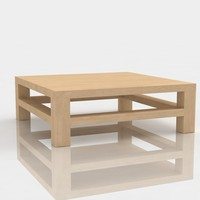 Table modern 4 ash wood
