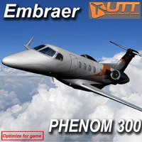 max embraer phenom 300