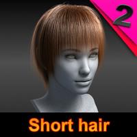 short hair style max