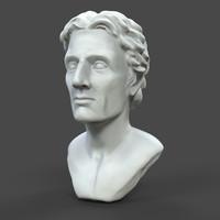 Printable Alexander King Bust