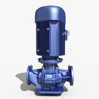 electric pump 3d max