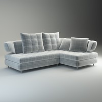 3d sofa nikol basic model