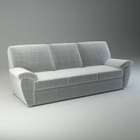 basic sofa senator 3d max