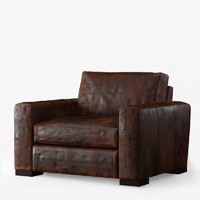 max maxwell leather armchair