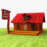 cartoon post office 3ds