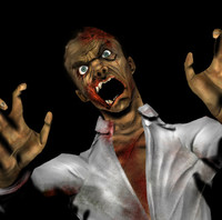 zombie gaming 3d model