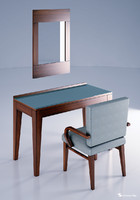 mirror table chair 3d model