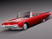 max thunderbird luxury 1961