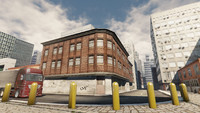 city buildings 3d fbx