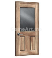 ready glass door 3d model