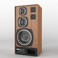 3d speakers radiotehnika s90 model
