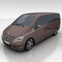 3d model mercedes viano