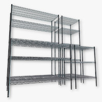 3d wire shelving kit