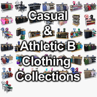 Athlectic Clothing B and Casual Clothing Collection
