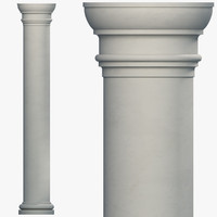 3ds max column parts