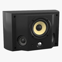 3d model bowers wilkins ds3 speaker