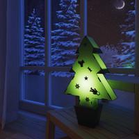free christmas tree 3d model