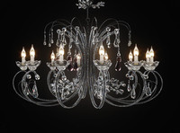 3ds max chandelier classic