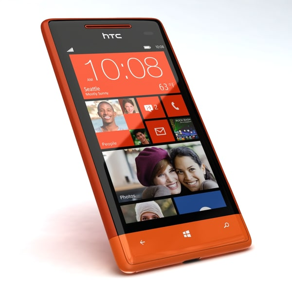3d 3ds htc windows phone 8s - HTC Windows Phone 8S... by 3dtoss