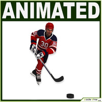 Hockey Player CG