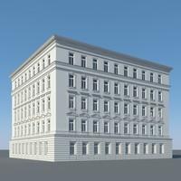 3d ma city building