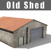 3ds max old shed