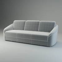 3d basic sofa donata