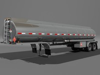 3ds max tanker trailer tank