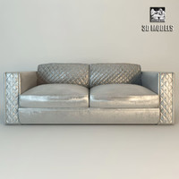 3d model of zanaboni capri sofa